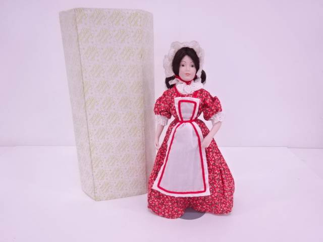 【IDN】 FRANKLIN MINT 「Alice of New Jersey」 エアルームドール【中古】【道】
