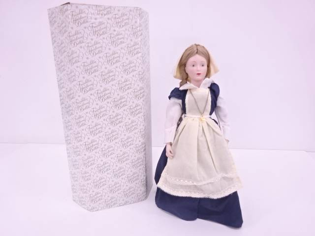 【IDN】 FRANKLIN MINT 「Deborah of New York」 エアルームドール【中古】【道】