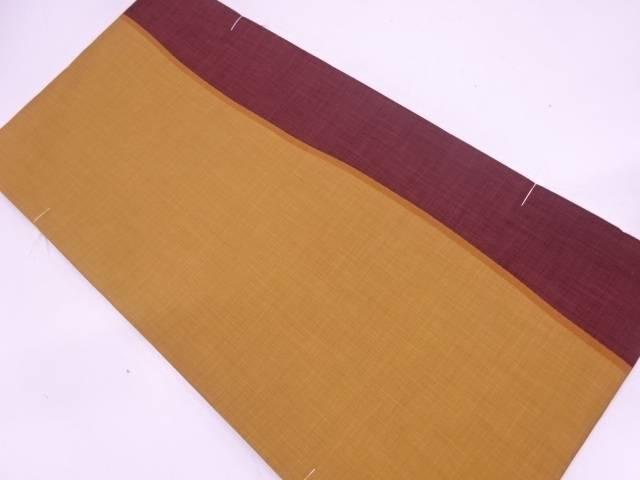 【IDN】 未使用品 よろけ縞模様織出し袋帯【リサイクル】【着】