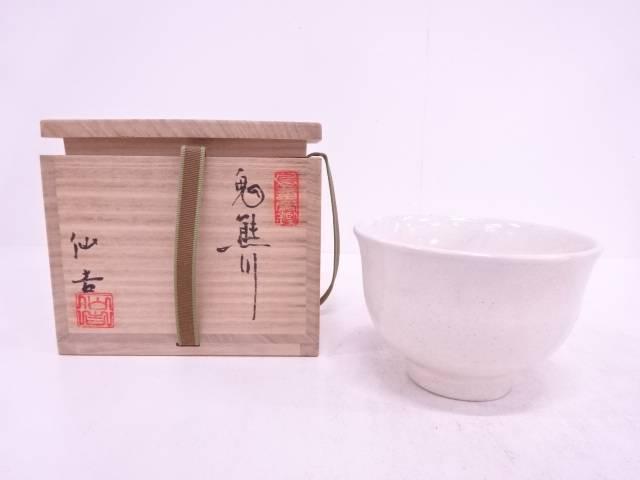 【IDN】 徐仙吉造 粉引茶碗【中古】【道】