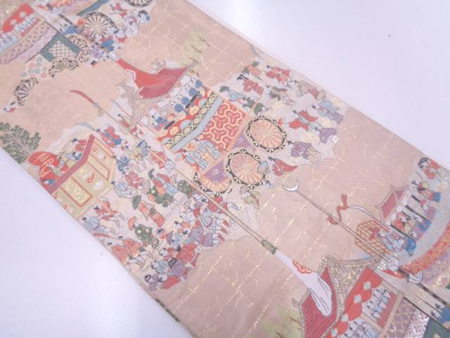 【IDN】 服部織物製 祇園祭模様織出し袋帯【リサイクル】【中古】【着】