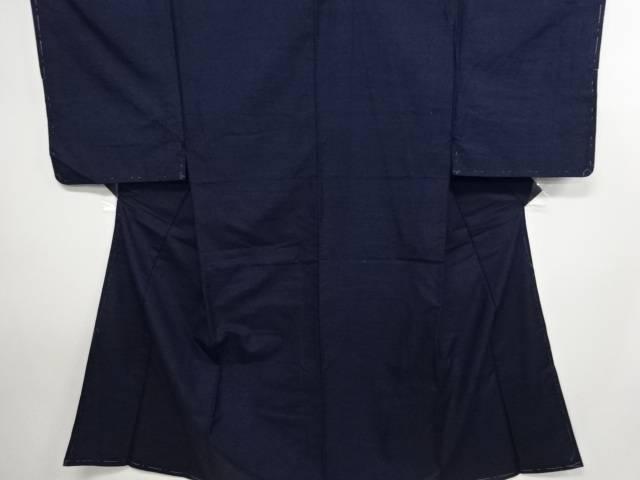 【IDN】 未使用品 手織り真綿紬男物着物アンサンブル・長襦袢セット【リサイクル】【着】