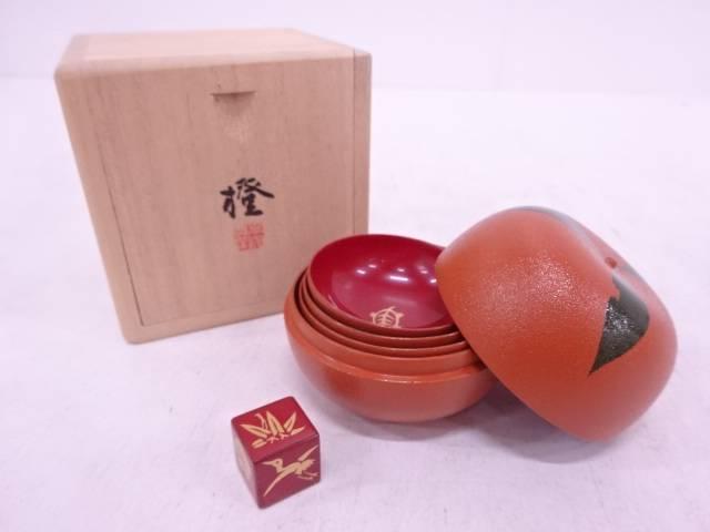【IDN】 山田平安堂造 橙座興盃【中古】【道】