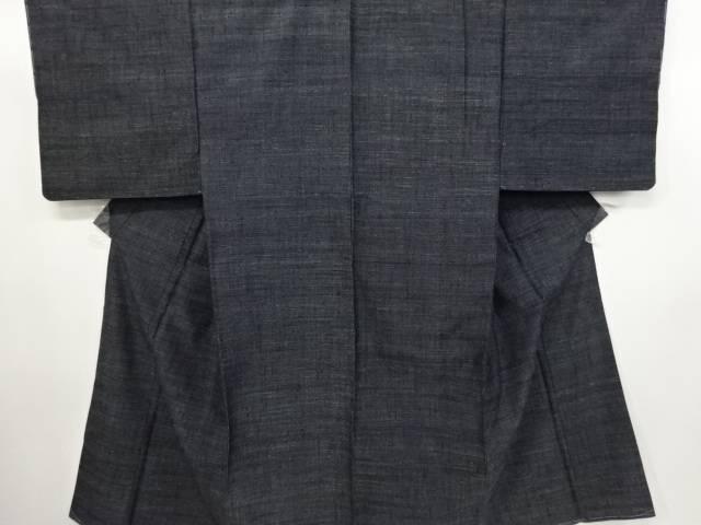 【IDN】 未使用品 仕立て上がり 本場結城紬男物アンサンブル着物(杢)【着】