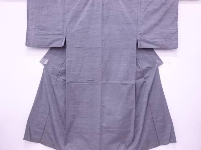 【IDN】 手織り真綿紬織柄男物着物アンサンブル(キングサイズ)【リサイクル】【中古】【着】