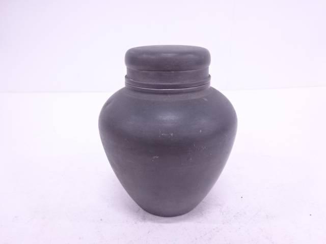 【IDN】 錫製茶心壺(746グラム)【中古】【道】