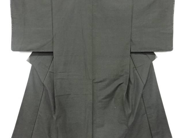 【IDN】 未使用品 仕立て上がり 手織り真綿紬男物着物【着】