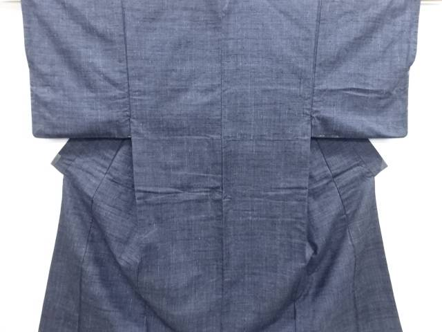 【IDN】 手織り真綿紬 男物着物アンサンブル【リサイクル】【中古】【着】