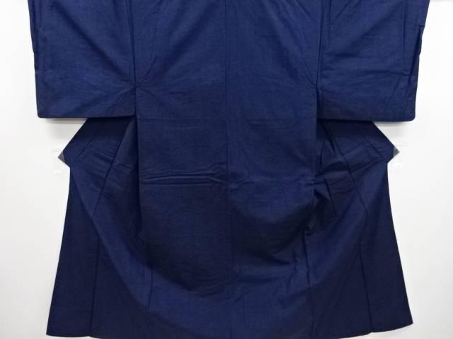 【IDN】 織り柄手織り紬男物着物アンサンブル【リサイクル】【中古】【着】