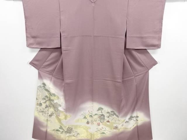 【IDN】 寿光織澪漂図織り出し一つ紋色留袖【リサイクル】【中古】【着】
