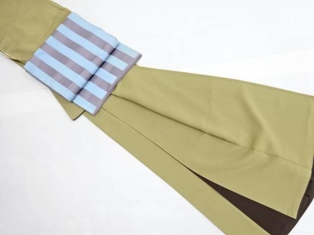 【IDN】 ジュサブロー作 花弁散らし模様付下げ訪問着 袋帯セット【リサイクル】【中古】【着】