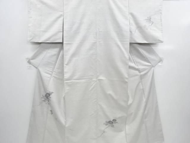 【IDN】 万寿菊模様織り出し手織り紬訪問着【リサイクル】【中古】【着】