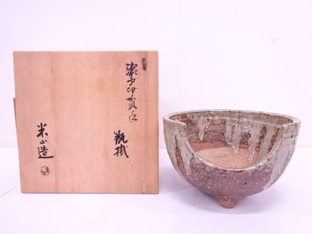 【IDN】 米山造 瀬戸伊賀手瓶掛【中古】【道】