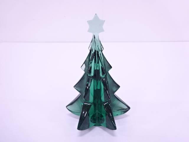 【IDN】 Baccarat メリベル クリスマスツリーフィギュリン【中古】【道】