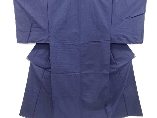 【IDN】 未使用品 仕立て上がり 手織り真綿紬男物着物アンサンブル【着】