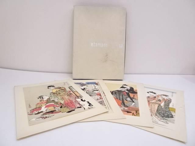【IDN】 喜多川歌麿 印刷浮世絵24枚セット【中古】【道】