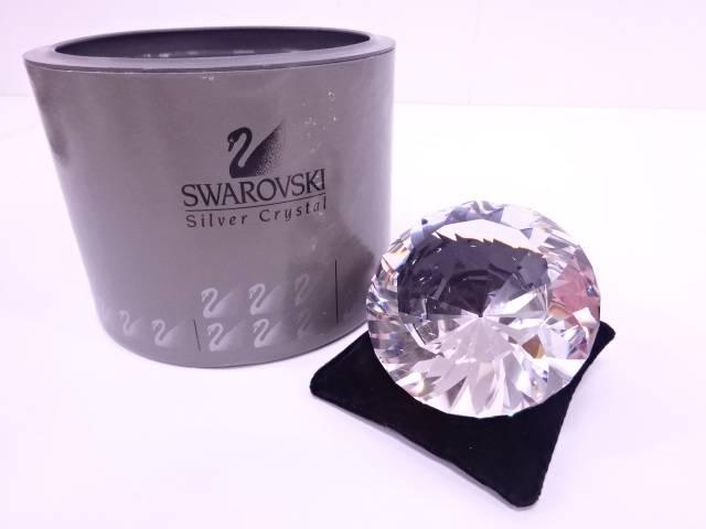 【IDN】 SWAROVSKI ダイヤモンドクリスタルオブジェ【中古】【道】
