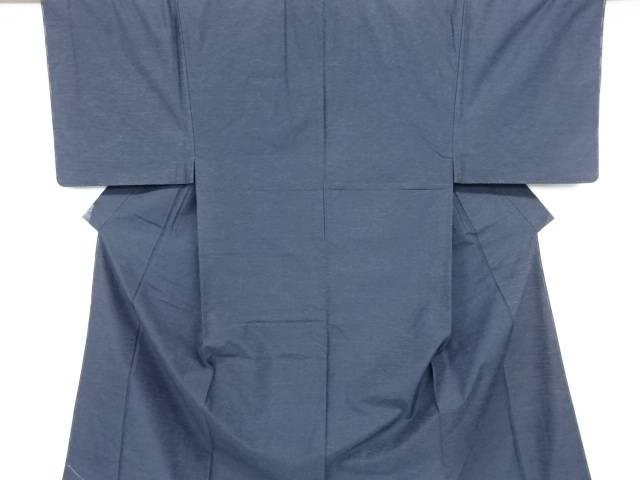 【IDN】 未使用品 仕立て上がり 手織り節紬男物着物アンサンブル【着】
