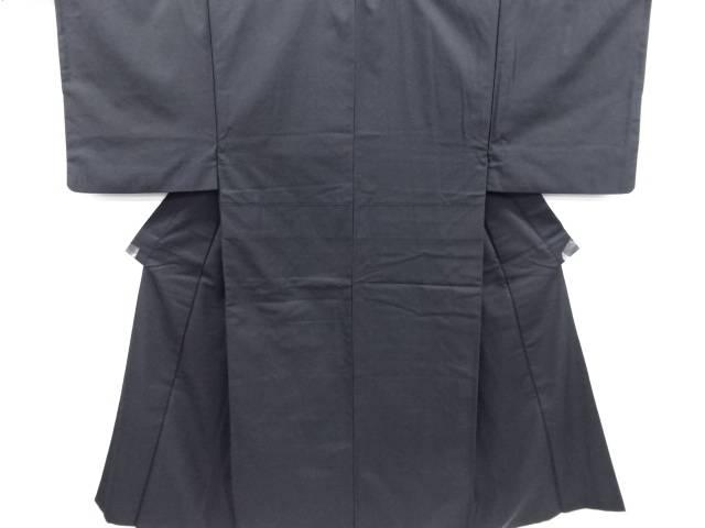 【IDN】 手織り髭紬男物着物・長襦袢セット【リサイクル】【中古】【着】