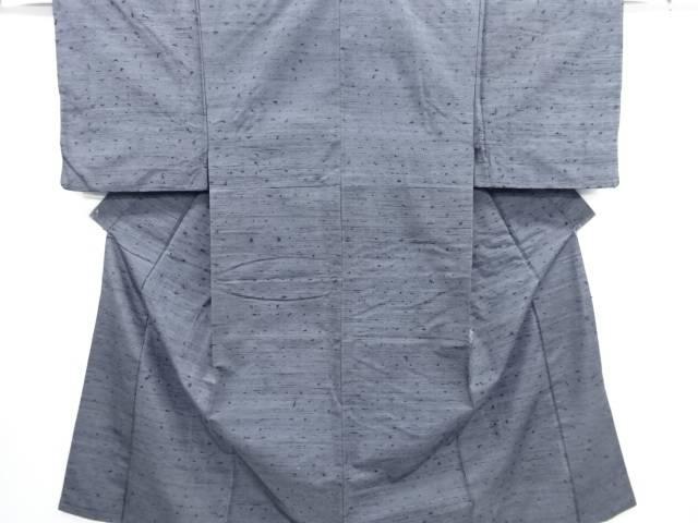 【IDN】 手織り髭紬男物着物・長襦袢セットアンサンブル【リサイクル】【中古】【着】