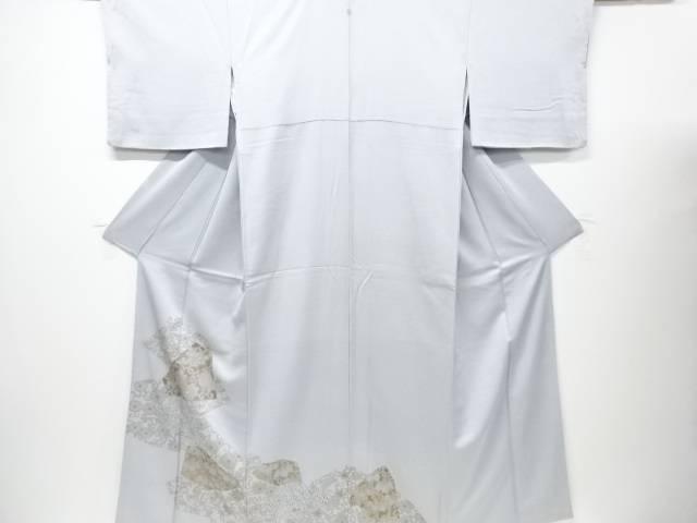 【IDN】 花唐草模様刺繍一ツ紋色留袖【リサイクル】【中古】【着】