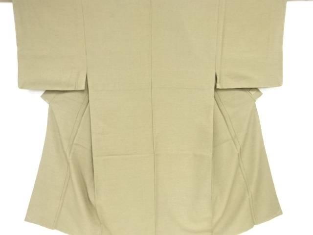 【IDN】 未使用品 変わり織手織り紬男物着物アンサンブル【リサイクル】【着】