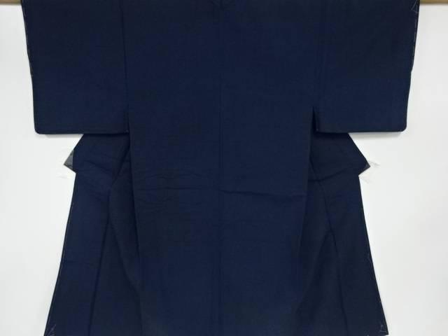 【IDN】 未使用品 手織り真綿紬男物着物アンサンブル【リサイクル】【着】