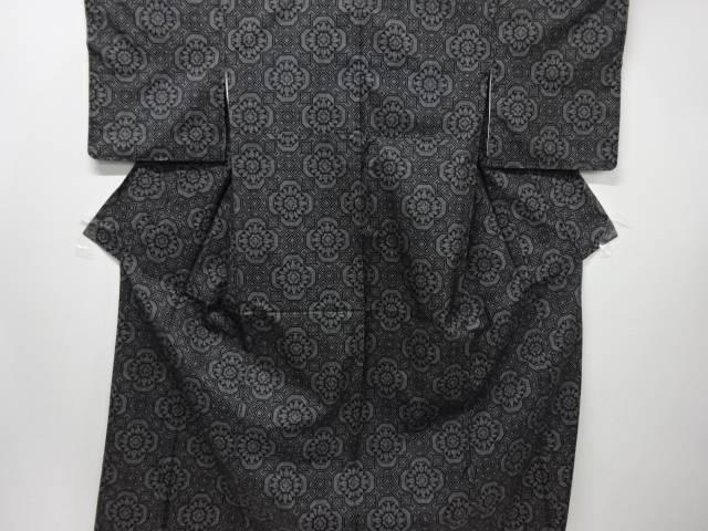 【IDN】 未使用品 花蜀江紋織り出し本場泥大島紬着物(5マルキ)【リサイクル】【着】