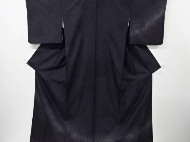 【IDN】 未使用品 仕立て上がり 花更紗に古典柄織り出し訪問着【着】