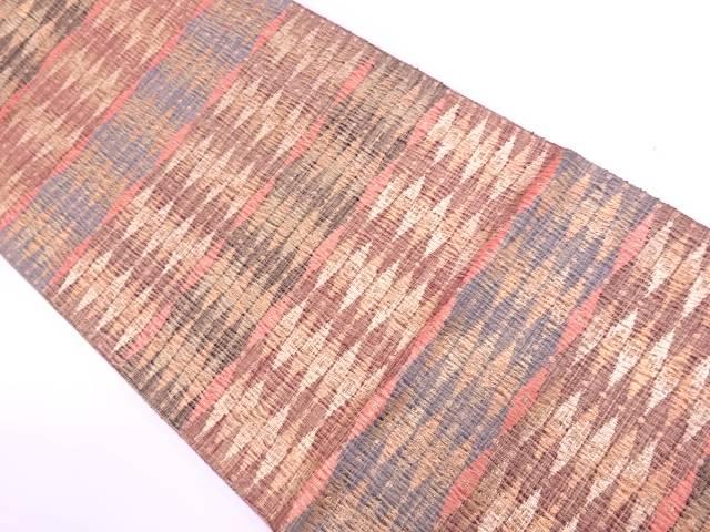 【IDN】 すくい織抽象模様織出し袋帯【リサイクル】【中古】【着】