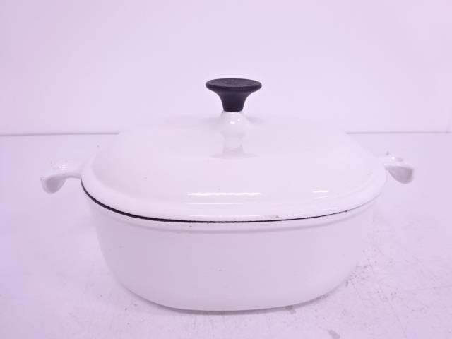 【IDN】 LE CREUSET ホーローオーバル鍋【中古】【道】