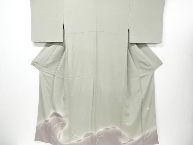 【IDN】 未使用品 仕立て上がり 作家物 金彩松竹梅に抽象模様一つ紋色留袖【着】