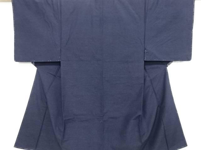 【IDnet】 未使用品 仕立て上がり 手織り真綿紬男物着物アンサンブル【着】