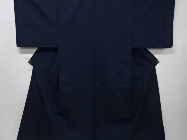 【IDnet】 手織り節紬男物着物アンサンブル・長襦袢セット(キングサイズ)【リサイクル】【中古】【着】