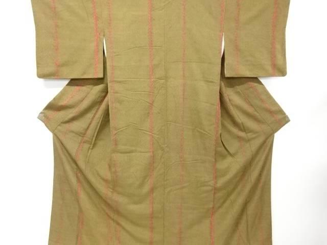 【IDnet】 板締め絞り手織り真綿紬着物【リサイクル】【中古】【着】