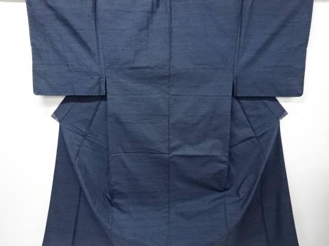 【IDnet】 織り柄手織り紬男物着物アンサンブル【リサイクル】【中古】【着】