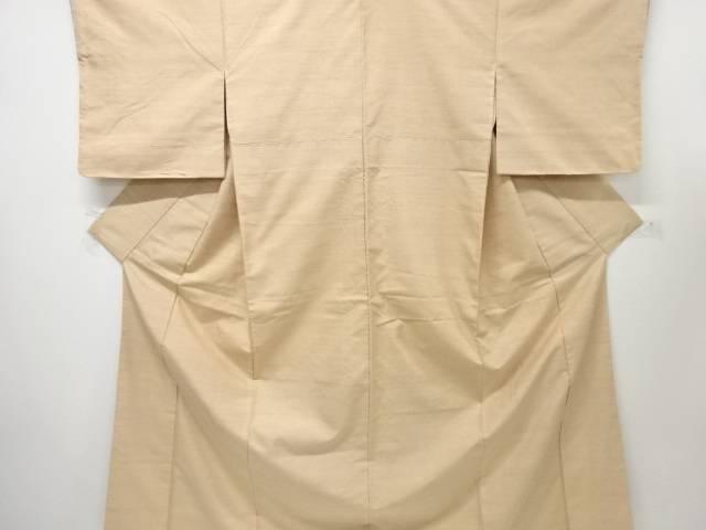 【IDnet】 仕付け付き 未使用品 米沢紬紅花染一つ紋着物【着】
