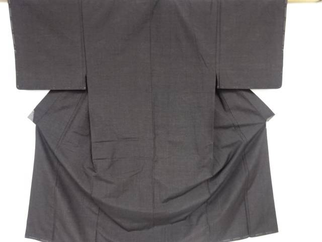 【IDnet】 未使用品 手織り節紬男物着物アンサンブル【リサイクル】【着】