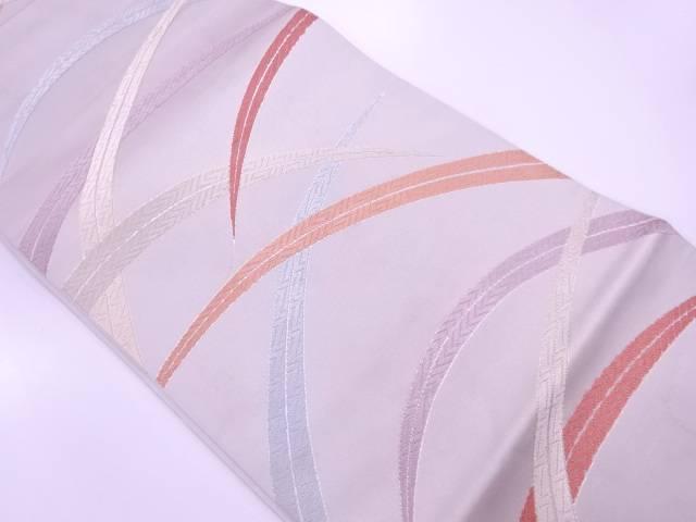 【IDnet】 川島織物製 芝草模様織出し袋帯【リサイクル】【中古】【着】