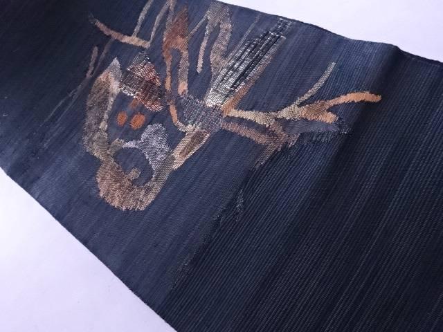 【IDnet】 袋帯 紬織り 鳥文【リサイクル】【中古】【着】