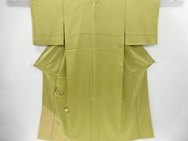 【IDnet】 金彩観世水に蝶模様一つ紋色留袖【リサイクル】【中古】【着】