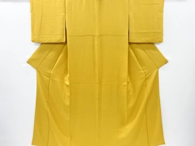 【IDnet】 織り柄色無地着物【リサイクル】【中古】【着】