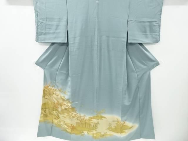 【IDnet】 金彩橋に松竹梅・風景模様一つ紋色留袖【リサイクル】【中古】【着】