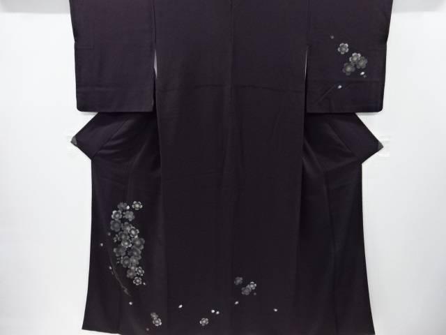 【IDnet】 金彩桜に雪輪模様訪問着【リサイクル】【中古】【着】