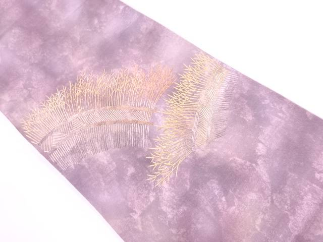 【IDnet】 柴垣模様刺繍袋帯【リサイクル】【中古】【着】