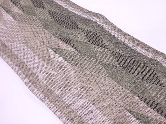 【IDnet】 未使用品 菱形美献上紋織出し袋帯【リサイクル】【着】