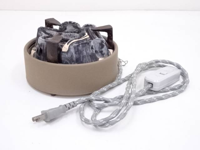 【IDnet】 野々田商店 炭型電熱器【中古】【道】