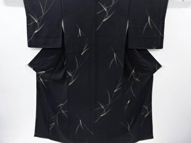 【IDnet】 未使用品 仕立て上がり 笹模様小紋着物【着】