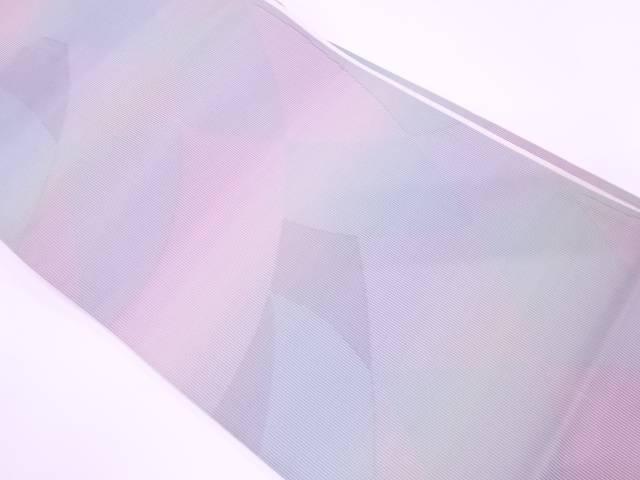 【IDnet】 抽象模様織出し暈し全通袋帯【リサイクル】【中古】【着】
