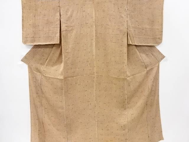 【IDnet】 紋錦紗幾何学模様単衣着物【大正ロマン】【中古】【着】